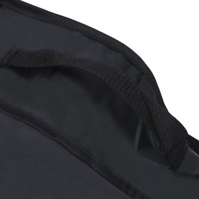 vidaXL Husă de chitară clasică 1/2, negru, 95x36,5 cm, material textil