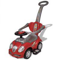 Mașină de jucărie pentru copii, cu împingere, roșu