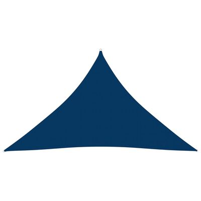 vidaXL Parasolar, albastru, 3x3x4,24 m, țesătură oxford, triunghiular