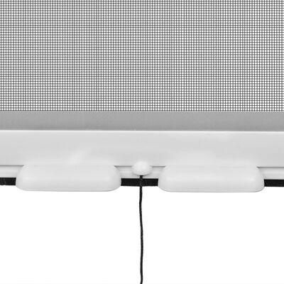 Plasă tip rulou pentru ferestre împotriva insectelor 100 x 170 cm