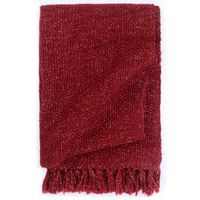 vidaXL Pătură decorativă, roșu burgund, 125 x 150 cm, lurex