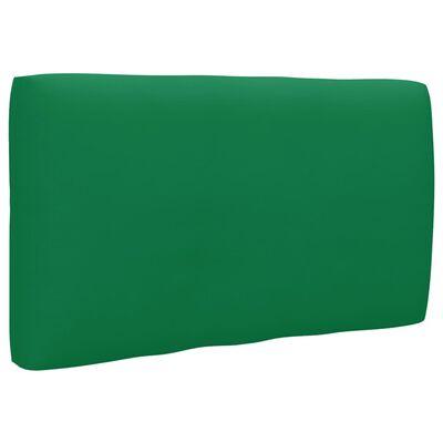 vidaXL Perne pentru canapea din paleți, 3 buc., verde