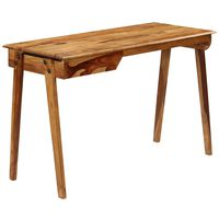 vidaXL Birou, 118 x 50 x 76 cm, lemn masiv de palisandru