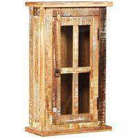 vidaXL Dulap de perete, 44 x 21 x 72 cm, lemn masiv reciclat