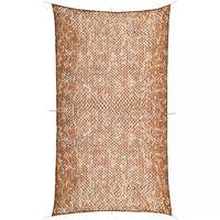 vidaXL Plasă de camuflaj cu geantă de depozitare, 4 x 8 m