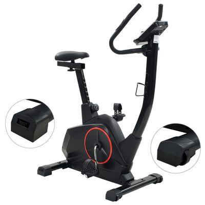 vidaXL Bicicletă de fitness magnetică cu măsurare puls, programabilă