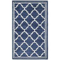Covor Safavieh Oriental & Clasic Aldona, Albastru/Bej, 90x150