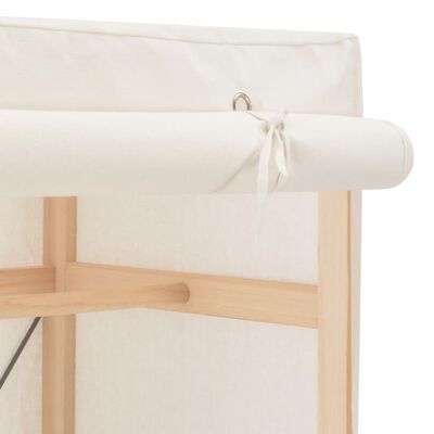vidaXL Șifonier, alb, 79 x 40 x 170 cm, material textil