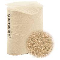 vidaXL Nisip de filtrare, 25 kg, 0,4-0,8 mm