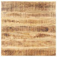 vidaXL Blat de masă, 70x70 cm, lemn masiv mango, 25-27 mm