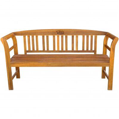 vidaXL Bancă de grădină, 157 cm, lemn masiv de acacia