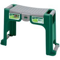 Draper Tools Scaun de grădinărit și suport, verde, 76763