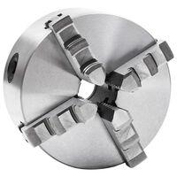 vidaXL Mandrină de strung cu 4 fălci, 125 mm, oțel