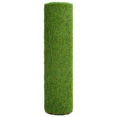 vidaXL Gazon artificial 1,33 x 10 m/40 mm, verde