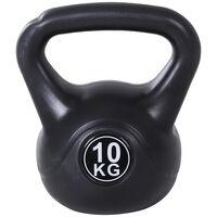 Kettlebell 10 Kg Pentru Antrenament Cross Training Negru