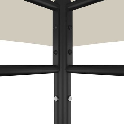 vidaXL Pavilion, gri taupe, 4x3x2,7 m, 180 g/m²