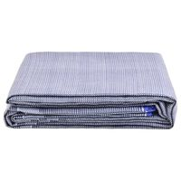 vidaXL Covor pentru cort, albastru, 650x300 cm