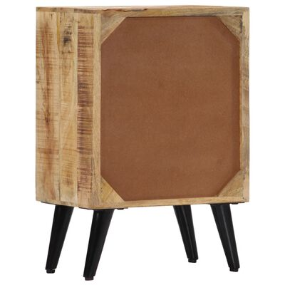 vidaXL Noptieră, 40 x 30 x 60 cm, lemn masiv de mango