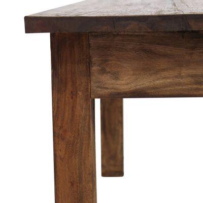 vidaXL Măsuță de cafea, lemn masiv reciclat, 98x73x45 cm