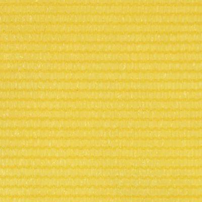 vidaXL Paravan de balcon, galben, 120 x 400 cm, HDPE