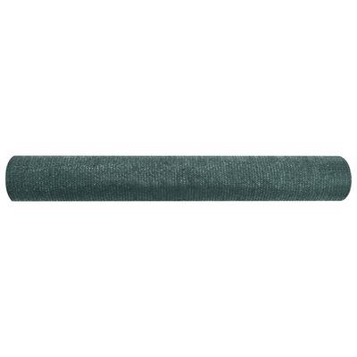 vidaXL Plasă pentru intimitate, verde, 3,6x10 m, HDPE, 75 g/m²