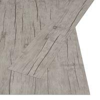 vidaXL Plăci autoadezive pardoseală stejar decolorat PVC 4,46 m² 3 mm