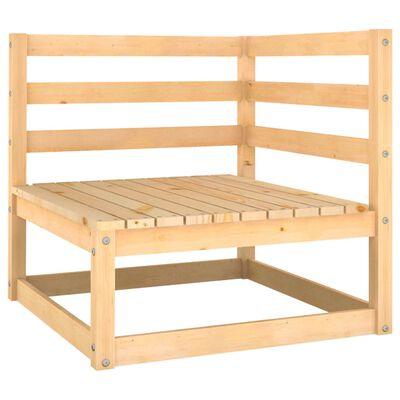 vidaXL Set mobilier de grădină, 14 piese, lemn masiv de pin