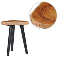 vidaXL Măsuță de cafea, 40 x 45 cm, lemn masiv de tec