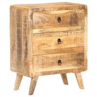 vidaXL Servantă, 60 x 35 x 75 cm, lemn de mango nefinisat