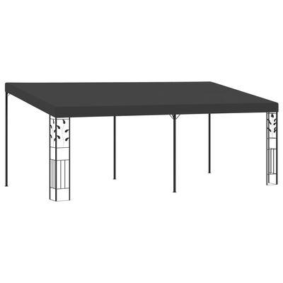 vidaXL Pavilion de perete, antracit, 6 x 3 x 2,5 m