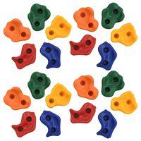 vidaXL Pietre de cățărat, 20 buc., multicolor, PE