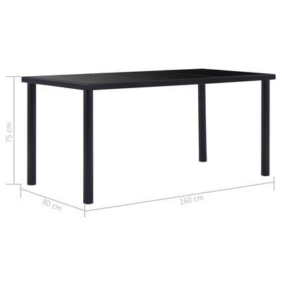 vidaXL Set mobilier de bucătărie, 9 piese, gri, piele întoarsă ecologică