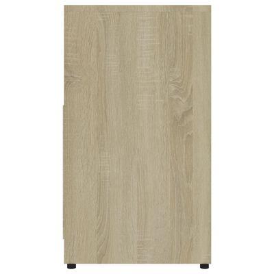 vidaXL Dulap de baie, stejar Sonoma, 60 x 33 x 58 cm, PAL