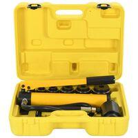vidaXL Set instrumente hidraulice de sertizare, 22 - 60 mm