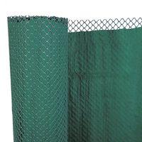 Nature Paravan anti-vânt de gard grădină cu două straturi 1 x 3 m PE