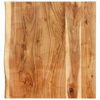 vidaXL Blat lavoar de baie, 60 x 55 x 3,8 cm, lemn masiv de acacia