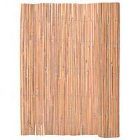 vidaXL Gard din bambus, 125 x 400 cm