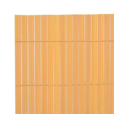 vidaXL Gard de grădină cu două fețe, galben, 170 x 300 cm
