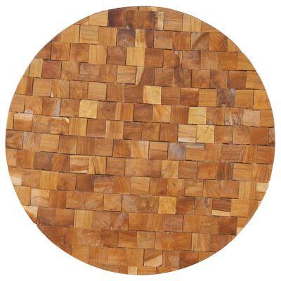 vidaXL Măsuță de cafea, 60 x 60 x 35 cm, lemn masiv de tec