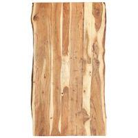 vidaXL Blat de masă, 120x(50-60)x3,8 cm, lemn masiv de acacia