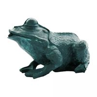 Ubbink Figurină de iaz cu joc de apă, broască, 12 cm, 1386008