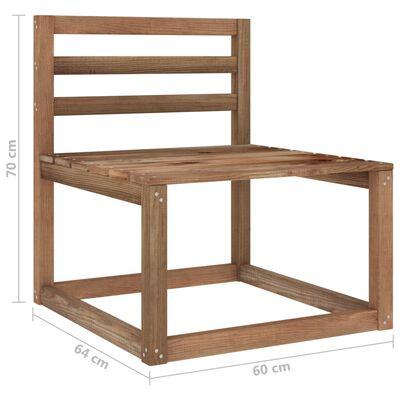 vidaXL Set mobilier de grădină, cu perne gri taupe, 8 piese