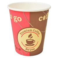 vidaXL Pahare de unică folosință pentru cafea 1000 buc. 240 ml (8 oz)