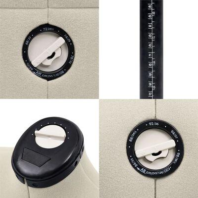 vidaXL Formă pentru rochie femeie reglabilă crem, dimensiune S 33-40
