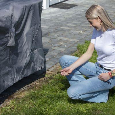 Madison Husă mobilier de exterior, gri, 180 x 190 x 85 cm