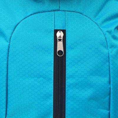 vidaXL Rucsac pentru drumeții XXL 75 L, Negru și albastru