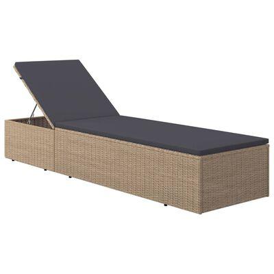 vidaXL Set mobilier pentru grădină, 9 piese, maro
