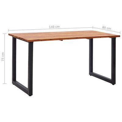 vidaXL Set de masă pentru grădină cu perne, 5 piese, negru, poliratan