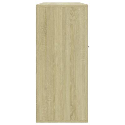 vidaXL Servantă, stejar Sonoma, 88 x 30 x 70 cm, PAL