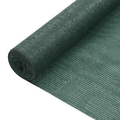 vidaXL Plasă pentru intimitate, verde, 1,8x10 m, HDPE, 150 g/m²